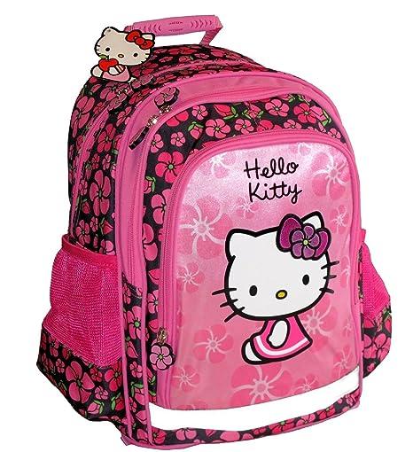Maxi & Mini HELLO KITTY-Mochila escolar grande SANRIO-E (38HK)