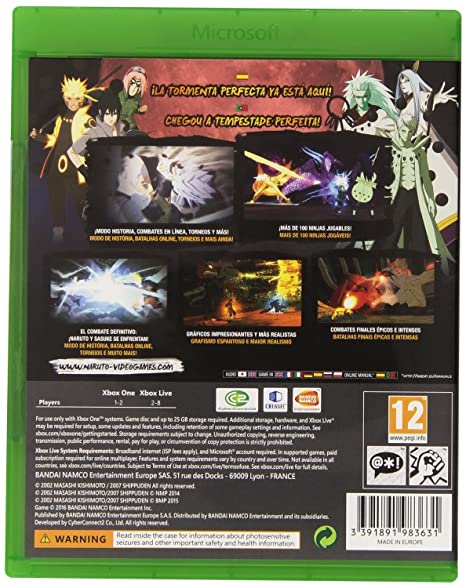 Naruto Shippuden: Ultimate Ninja Storm 4 (Xbox One) by Namco ...