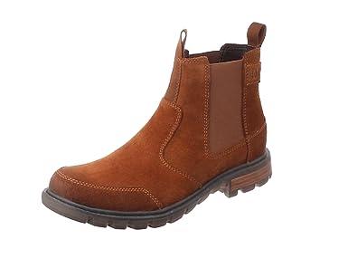 Cat Footwear Economist, Botas Chelsea para Hombre
