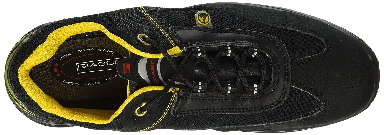 Giasco Halbschuh Acquarius S1P, schwarz Größe 40, 1 Stück, schwarz S1P, / gelb, UP121E40 schwarz-gelb a24ea7