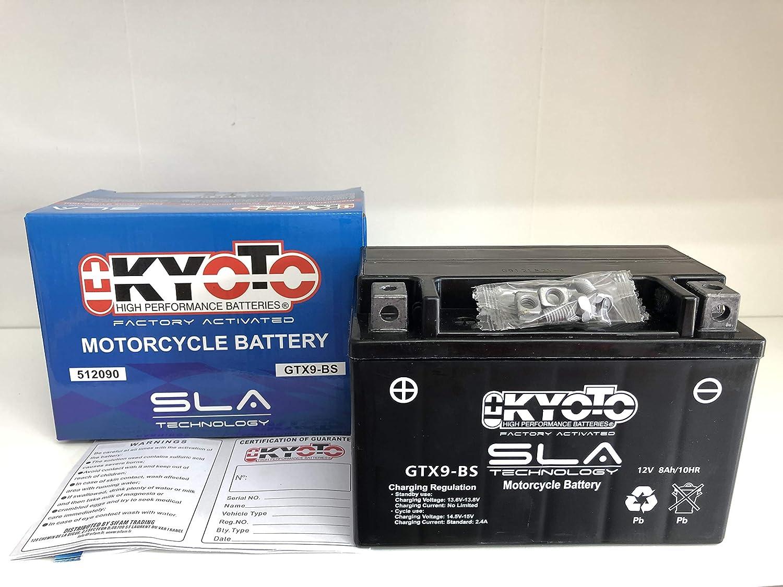 Bater/ía YTX9-BS SLA 12v 8ah Kyoto