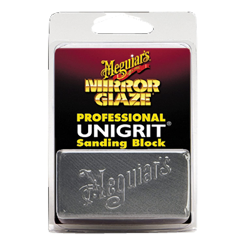 1 Pack Meguiar/'s K1000 Mirror Glaze 1000 Grit Unigrit Sanding Block