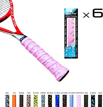 Alien profesionales Overgrip de tenis de x-tac cinta perfecta para ...