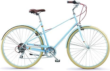 PUBLIC Bikes M7 - Bicicleta de Ciudad (Estilo francés): Amazon.es ...