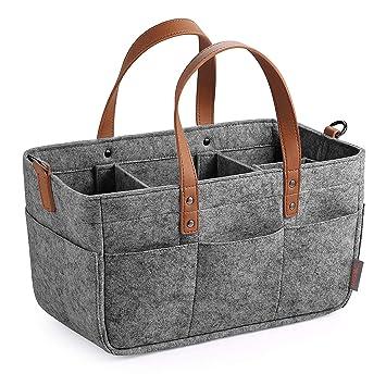 Baby Diaper Storage Caddy Portable Nappy Basket Stroller Organizer For Travel Boxes & Storage Nursery Décor