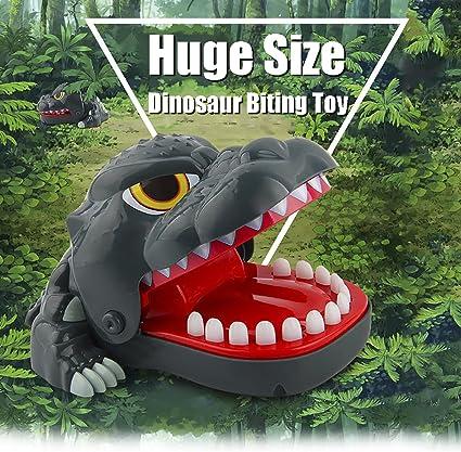 1 to 4 Players Dinosaur bite finger game For Kids Oun Nana Dinosaur Dentist
