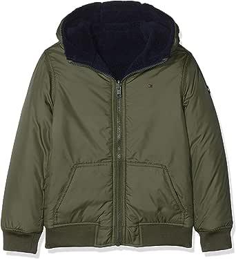 Tommy Hilfiger Reversible Teddy Jacket Chaqueta para Niños