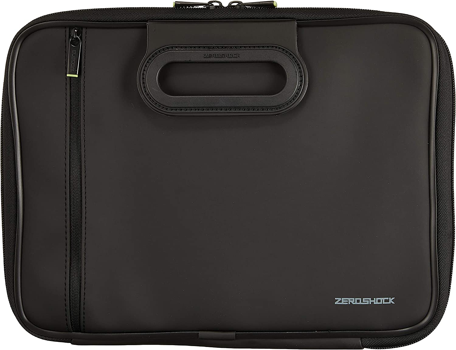 ELECOM Zero Shock Protective Sleeve, Water-Resistance up to 11.6 inch Laptop with The Carry Handle/Black/ZSB-IBNH11BK