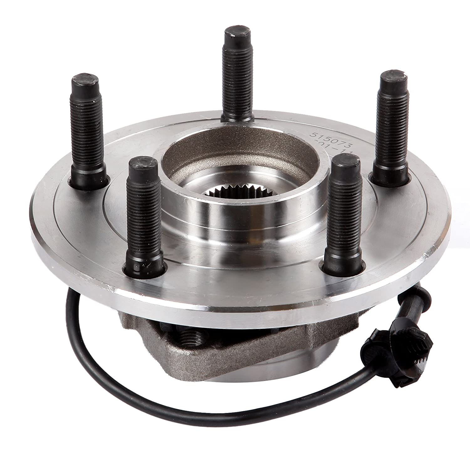 ECCPP Replacement for Pair of 2 New Complete Front Wheel Hub and Bearing for 2002-2006 Dodge RAM 1500 5 Lugs W//ABS 515073/¡/Á2