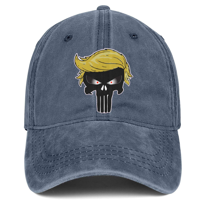 Man Women I Love Trump Cap Stylish Denim Cowboy Hat Baseball Caps