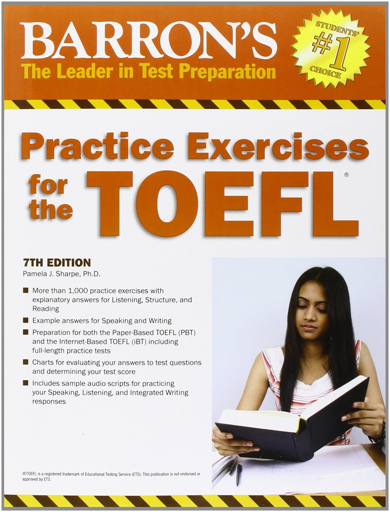 Buy practice exercises for the toefl 7th edition barrons buy practice exercises for the toefl 7th edition barrons educational series book online at low prices in india practice exercises for the toefl 7th fandeluxe Choice Image