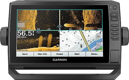 Garmin ECHOMAP UHD 93sv, 9 Keyed-Assist Touchscreen Chartplotter with U.S. LakeVu g3 and GT54UHD-TM transducer