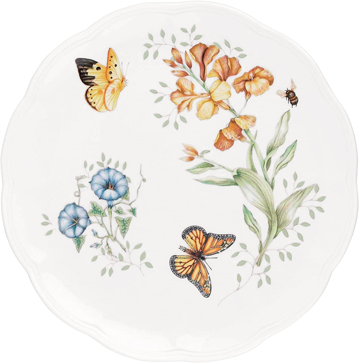 Lenox Butterfly Meadow Monarch Dinner Plate