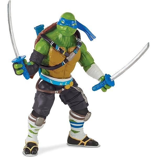 Las Tortugas Ninja 2 - 12cm Figura de acción - Leonardo ...