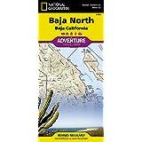Baja North: Baja California [Mexico] (National Geographic Adventure Map, 3103)