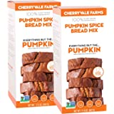 Cherryvale Farms, Pumpkin Spice Bread Baking Mix, Everything But The Pumpkin, 17.5 oz (pack of 2)