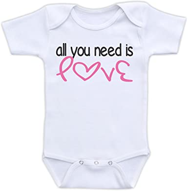 Amazon Com All You Need Is Love Valentine S Day Baby Clothes