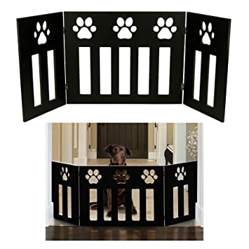 Amazon Com Pet Or Dog Gate Free Standing 48 Inch Wide 19 Inch Tall