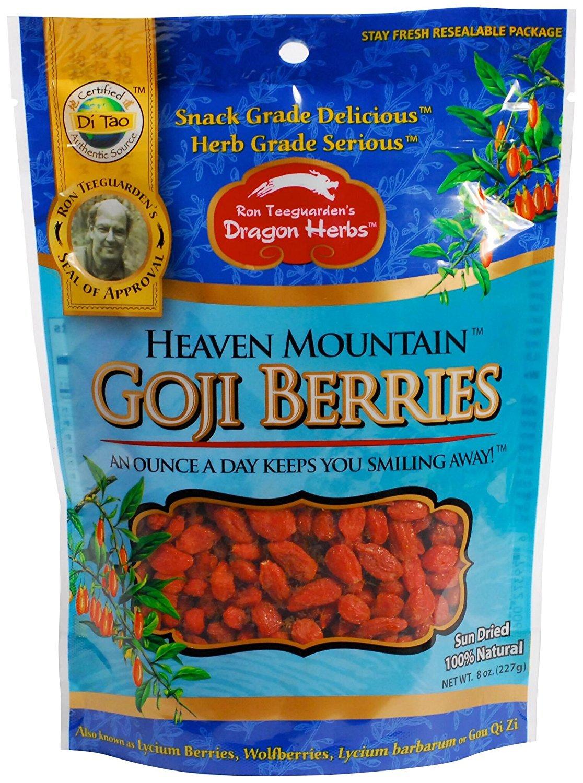 Dragon Herbs Heaven Mountain Goji Berries -- 8 oz