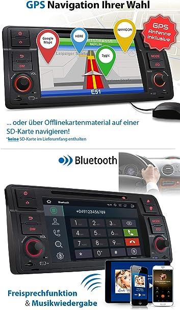 XOMAX XM-70BA Radio de Coche con Android 10 Adecuado para BMW I ...