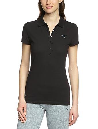 PUMA - Polo para Mujer, tamaño XL, Color Negro: Amazon.es: Ropa y ...