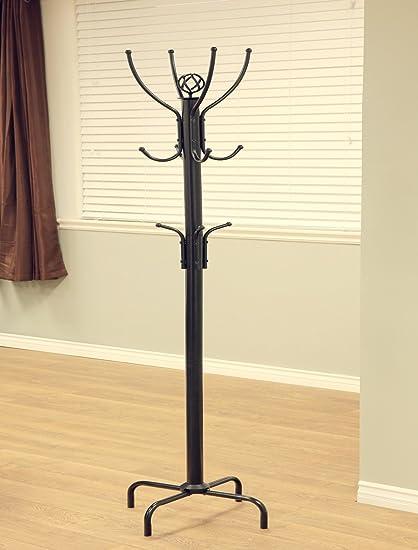 Buy Coat Rack 40 H Black Frenchi Furniture Black Metal Coat Classy Buy A Coat Rack