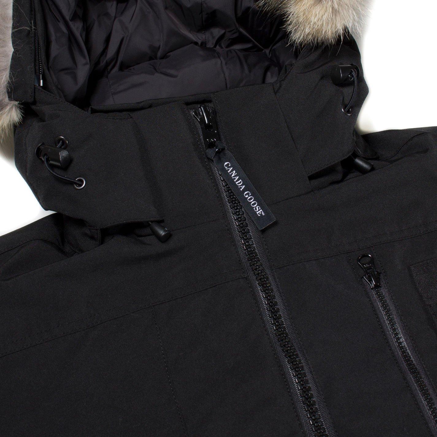 Canada Goose - Abrigo - para hombre negro negro L: Amazon.es: Ropa y accesorios