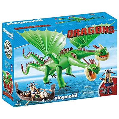 PLAYMOBIL How to Train Your Dragon Twins with Barf and Belch: Toys & Games