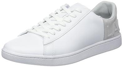 Lacoste Sport Carnaby EVO 318 3 SPW, Zapatillas para Mujer, Blanco (Wht/Lt Gry 14x), 40.5 EU: Amazon.es: Zapatos y complementos