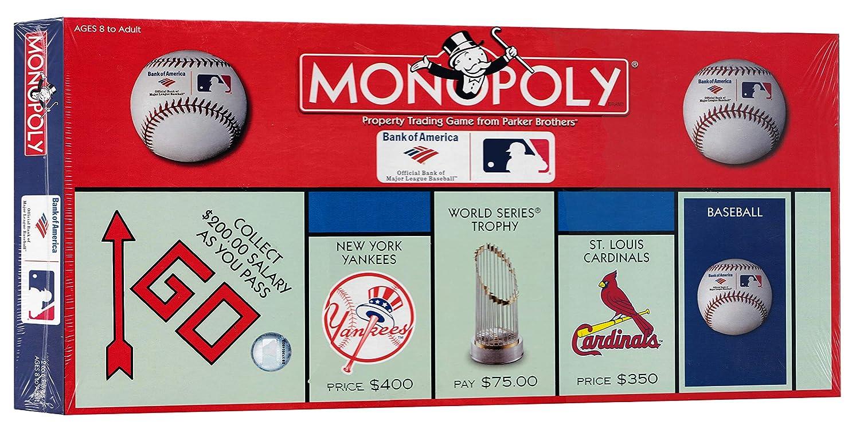 モノポリー:Bank of America MLB ボードゲーム B07NPS2L22