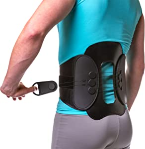 Spine Decompression Back Brace - MAC Plus Rigid Lumbosacral Corset Belt with Pulley System for Sciatica Pain, Disc Injury and After Laminectomy or Spinal Fusion Surgery (M)