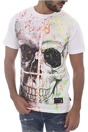 19fdd433203 Philipp Plein T Shirt Hard  Amazon.fr  Vêtements et accessoires