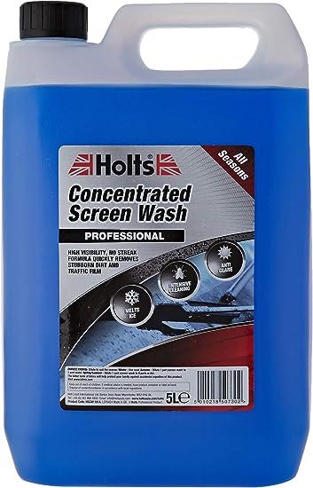 Oferta amazon: Líquido concentrado lavaparabrisas, frasco de 5 litros código Hscw1101a de Holts