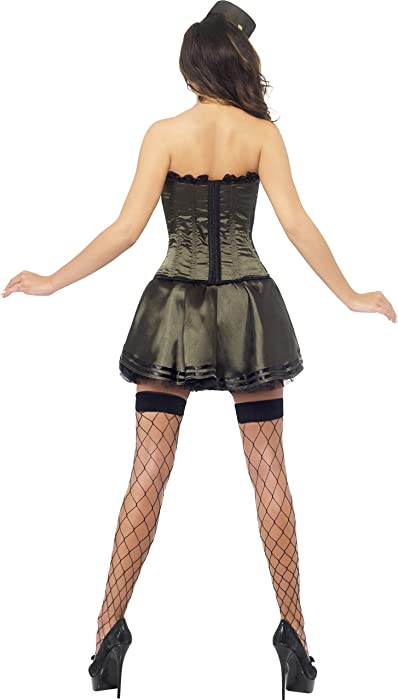 254a1bdf22a Amazon.com: Fever Women's Boutique Army Costume: Clothing