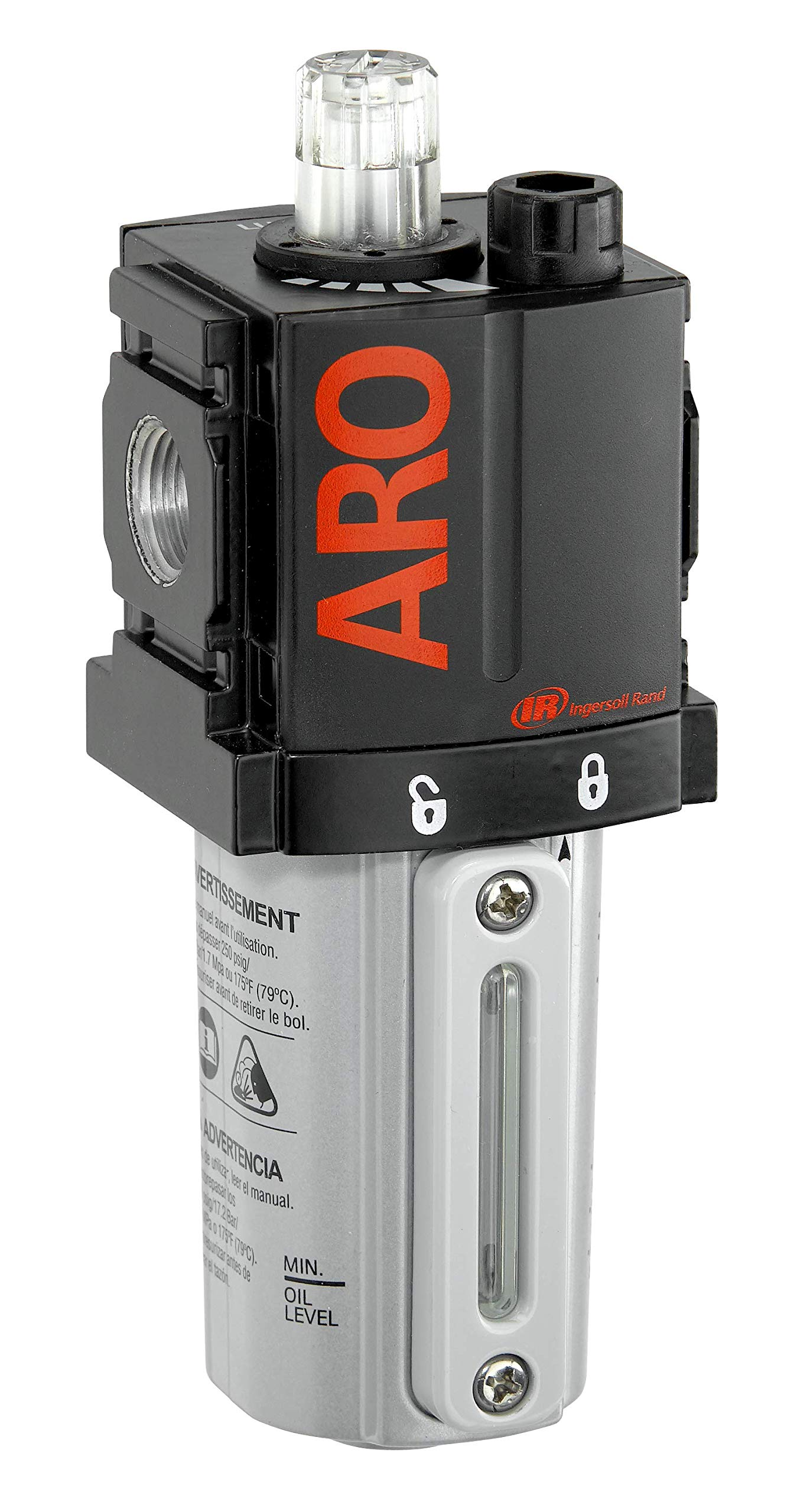 ARO L36121-100-VS Air Line Lubricator, 1/4'' NPT - 150 psi Max Inlet by Ingersoll Rand