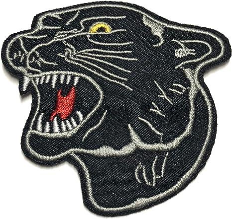 Parche bordado de Black Panther, serie Big Cat Nature Outdoors ...