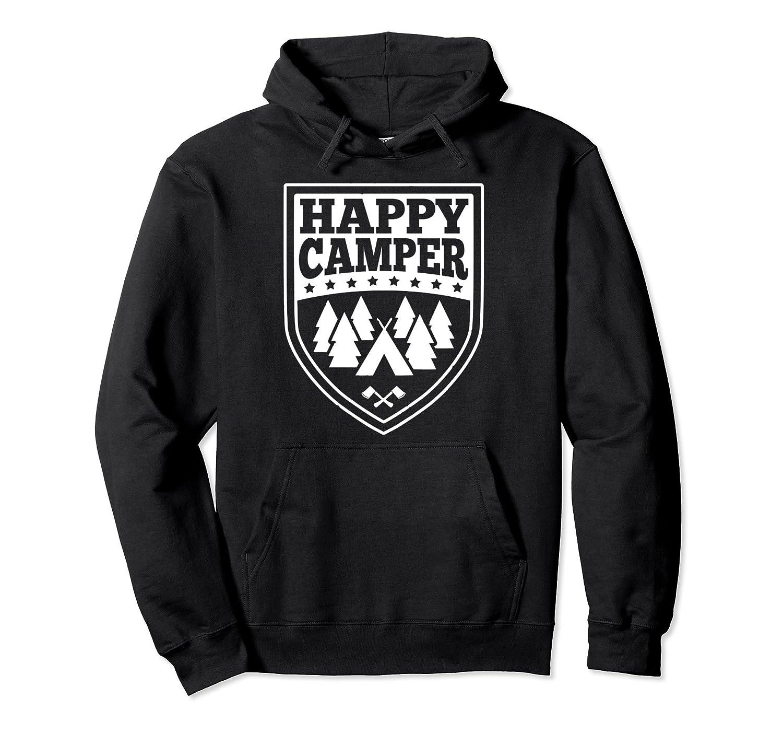 Happy Camper Pullover Hoodie Men Women Teens- TPT