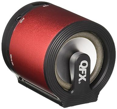 Review QFX CS-181RD Portable Multimedia