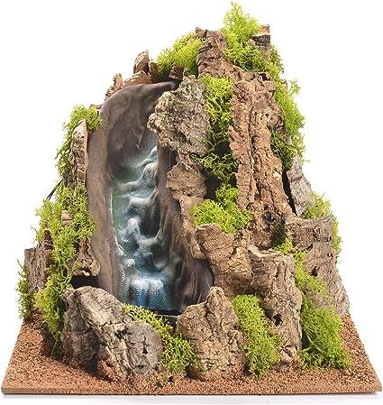 Holyart Cascata ruscello per presepe 25x29x29 cm: Amazon.it: Casa