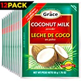 Grace Dry Coconut Milk Powder with eBook, Pack of 12