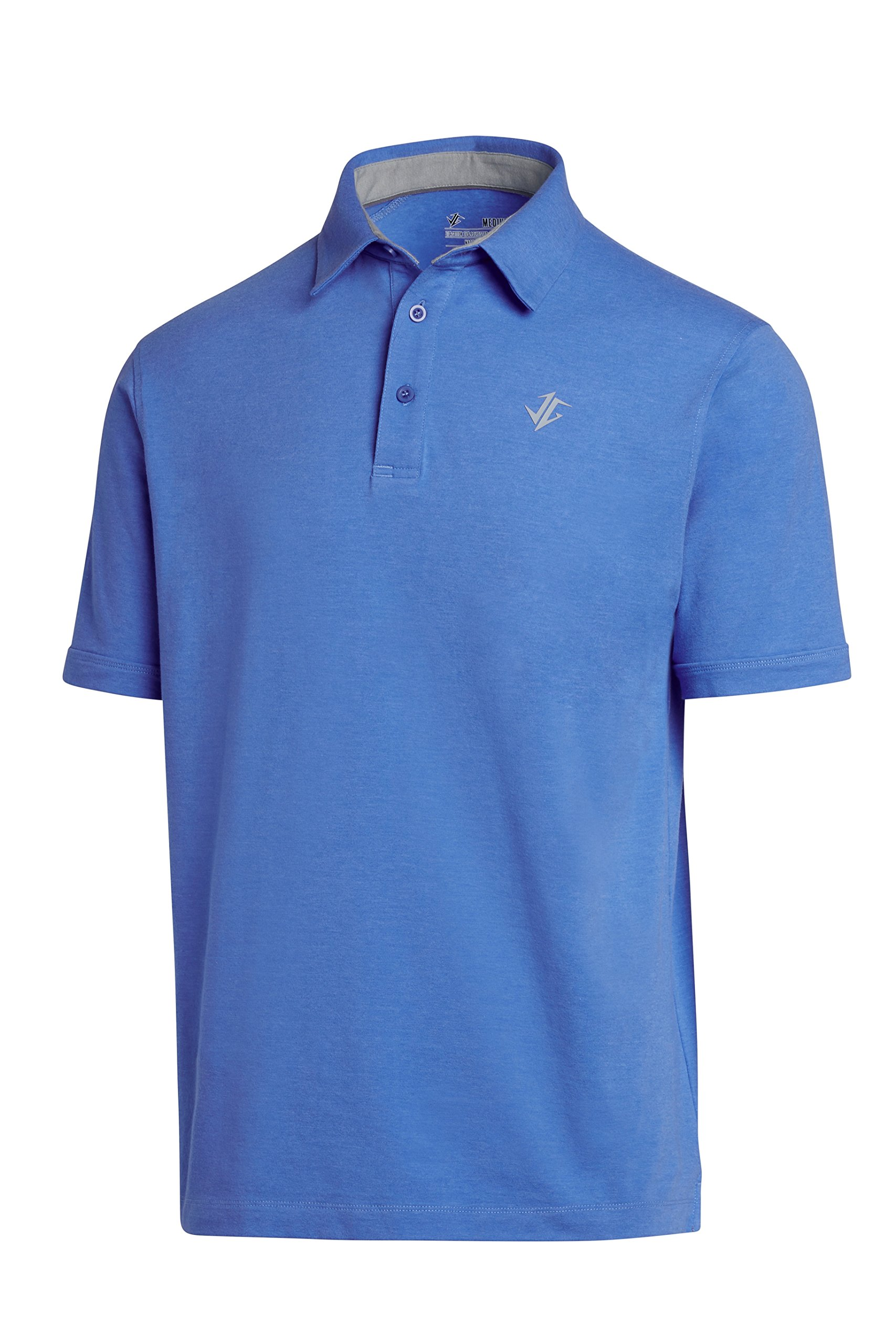 Jolt Gear Golf Shirts Men - Dry Fit Cotton Polo Shirt - Includes 20 Golfing Tees