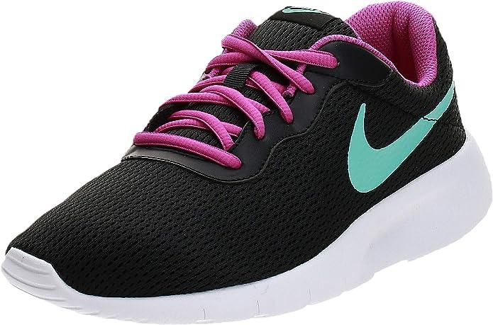 Nike Tanjun Sneakers Laufschuhe Herren Schwarz/Türkis/Pink