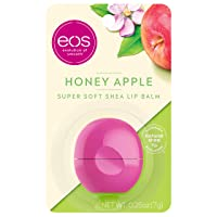 eos Super Soft Shea Lip Balm - Honey Apple | 24 Hour Hydration | Lip Care to Moisturize...