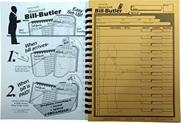 Amazon.com : Bill-Butler Monthly Household Bill Organizer : Office ...