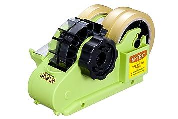 Dispensador de cinta adhesiva DOS OPCIONES DE CORTE - VERDE PALMA
