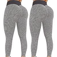 $27 » Reosse Leggings for Women - 2 Pack High Waist Yoga Pants for Women