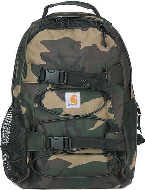 CARHARTT WIP - Backpacks - Men - Khaki Kickflip Camouflage Waterproof  Backpack 16 L for men