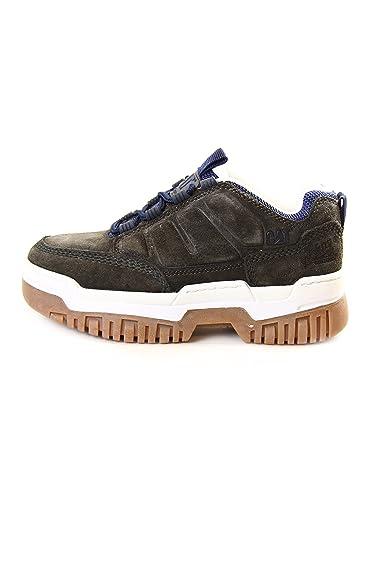 Caterpillar , Chaussures de ville à lacets pour homme - Gris - Grey, 37 EU
