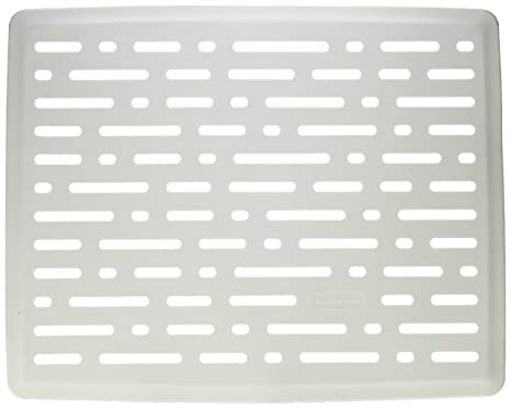 Rubbermaid Home 1G1706WHT Sink Mat Kitchen & Dining Dish ...