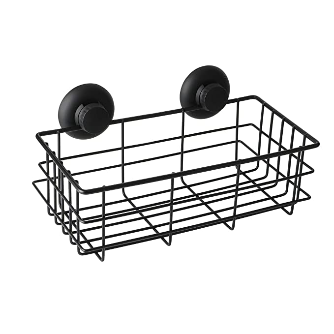 Amazon Com Alise Gx801 B Non Drilling Shower Caddy Bathroom Basket